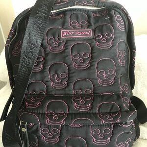 Betsy Johnson Skull Backpack 🎒 New! Full Size!